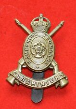 British Army – Hampshire Carabiniers Yeomanry Genuine OR's Cap Badge