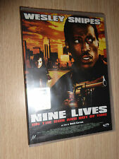 DVD NINE LIVES ON THE RUN AND OUT OF TIME SNIPES ITALIANO ENGLISH