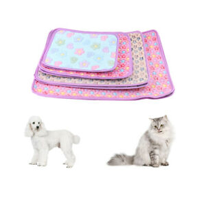 Soft Pet Dog Cat Bed Mat with Cute Prints Dog Crate Kennel Pad Pet Bed Liner