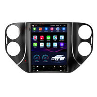 """9.7"""" Tesla Style Android 8.1 Car Stereo Navi GPS For Volkswagen Tiguan 08-14 New"""