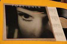 FOREIGNER LP INSIDE INFORMATION ORIG USA 1987 EX+ GATEFOLD COVER + INNER TESTI
