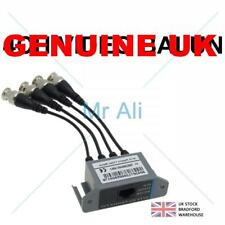 4Ch Passive Video Balun BNC Cable Transceiver to UTP Cat5 for cctv Camera System