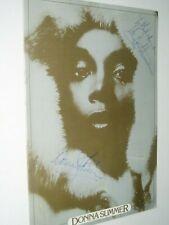 More details for donna summer      autograph on tour programme    ...1977