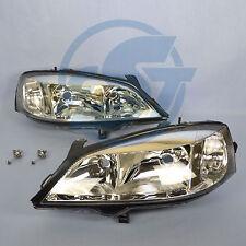 2x Scheinwerfer Opel Astra G links + rechts Set Klarglas incl H7 Longlife NEU