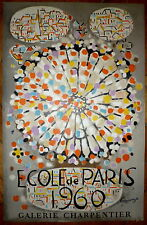 Lagrange affiche lithographie 60 art abstrait abstraction Mourlot Ecole de Paris