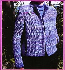 "Twenty-Four/Seven Jacket - Chris Bylsma Designs KNITTING PATTERN - Women 35""-47"""