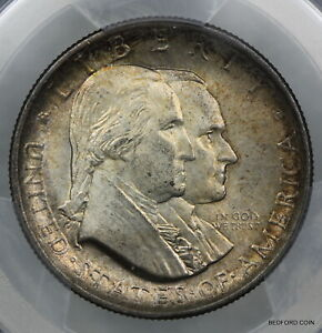 TONED PCGS MS63 1926 SESQUICENTENNIAL SILVER COMMEMORATIVE HALF DOLLAR 50c (B41)