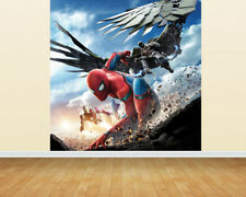 HUGE SPIDERMAN ADHESIVE WALLPAPER PRINT MURAL BACKDROP 2m x 2m (2 sections)
