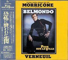 """Ennio Morricone """"PEUR SUR LA VILLE"""" score Japan SLC CD 22 tracks"""