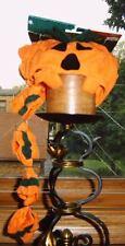 Halloween Dog Costume Pumpkin Hat with Cuffs Medium Dog
