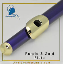 Purple and Gold Flute with eBook & MP3 Package - Masterpiece, Wind Instrument