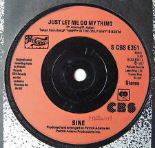 "SINE - Just Let Me Do My Thing - Ex Con 7"" Single"