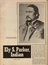 Ely S. Parker Revered Indian Leader+Chiefs Crazy Horse, Dragon Fly,Jonoesdowa
