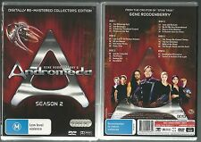 ANDROMEDA SEASON 2 BY GENE RODDENBERRY DIGITALLY REMASTERED GREAT NEW 6 DVD SET