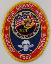 2001 National Jamboree  Food Service Group Subcamp Food [G1555]
