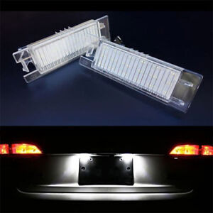 ECLAIRAGE PLAQUE LED OPEL ASTRA H FEUX ARRIERES IMMATRICULATION BLANC XENON