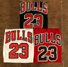 Youth/Men's Michael Jordan #23 Chicago Bulls Sewn Vintage Red/Black/White Jersey