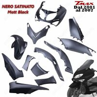 KIT CARENE COMPLETO FAIRING COQUE T-MAX TMAX XP 500 01/07 BLACK MATT SATINATO