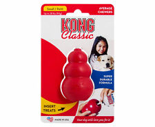 KONG Classic Dog Toy Small 9kg Dogs Average Chewers Natural Rubber