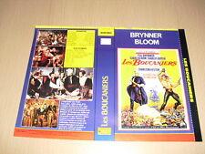 JAQUETTE VHS Les Boucaniers (The Buccaneer) Yul Brynner Charlton Heston