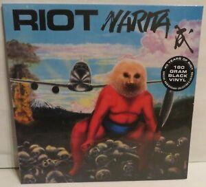 Riot Narita 2016 reissue LP Black Vinyl Record new German Press