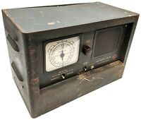 """Vintage Military Radio Receiver R-100/URR """"The Morale Builder"""" WWII Tested AS-IS"""