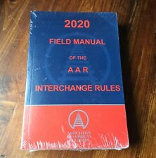 2020 Field Manual Of The AAR Interchange Rules Book NEW SEALED