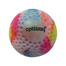 Opttiuuq Dimple Hockey Ball. Quality PVC and Cork Core. RAINBOW COLOURS