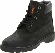Timberland Grade School 6 Inch Classic Winter Boots Black 10910