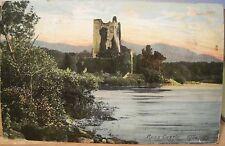 Irish Postcard Ross Castle Lower Lakes of Killarney Ireland Eire go Brat 1911