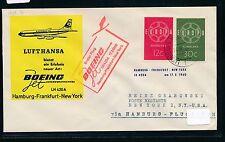 67553) LH FF Hamburg - New York 17.3.60, SoU ab Niederlande, CEPT