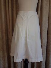 LAURA ASHLEY White Skirt Size 14
