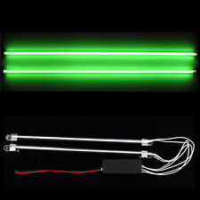 "2Pcs 12"" Car Green Undercar Underbody Neon Kit Lights CCFL Cold Cathode Tube"