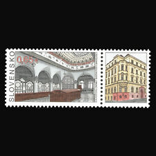 """Slovakia 2015 - Stamp Day """"Architecture"""" - Sc 731 MNH"""