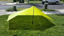 Ultra Light Jimmy Tarps 6 X 9 Shelter Tea Green Limited Edition