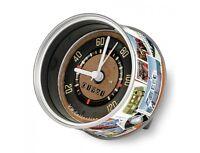 """VW Uhr T1 """"Tacho"""" MyClock Konservenformat My Clock Bus Bulli Original VW (-016)"""