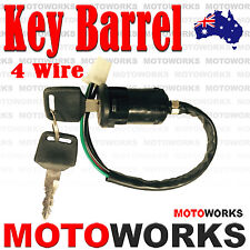 4 wire Ignition Key Barrel switch ATV QUAD Bike Gokart 4 Wheeler Buggy Dirt Pit