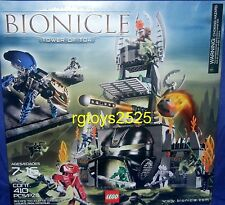 Lego Bionicles Tower of Toa # 8758 comes with 410 pieces New Factory Sealed