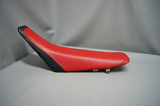 HONDA CR80R Seat Cover CR85 2-TONE RED & BLACK or 25 COLORS 1996 1997 1998 (2pc)