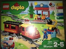 LEGO DUPLO Steam Train 10874 Remote-Control Building Blocks BRAND NEW SEALED