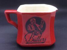 VINTAGE BUTLERS BREWERY WOLVERHAMPTON - PUB WATER JUG - BEER - ALE - ADVERTISING