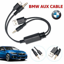 Y CABLE FOR BMW MINI USB AUX IN Interface AUDIO ADAPTER iPhone 5 6 7 Plus BC01