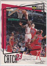 "1997-98 COLLECTOR'S CHOICE CATCH 23: MICHAEL JORDAN #193 SUBSET ""SHAKE & BAKE"""