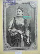 Original-Holzschnitte über Porträts & Persönlichkeiten (1800-1899) aus Deutschland