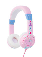 "Peppa Pig ""Princess Peppa"" Children's Headphones for Age 3-7 yrs"
