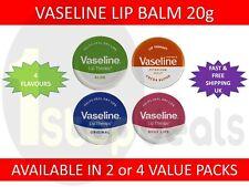 Vaseline Lip Balm Petroleum Jelly Pocket Size Mini Size 20g Pots VALUE PACKS