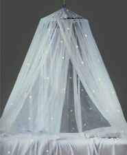 Mosquito Bed Net Netting Children Canopy Tent Glow in Dark Star Fantasy Princess