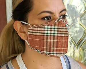 507 Mouth Cover, Nose Cover, Adjustable EarLoops Reusable Cotton Inner, Washable