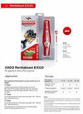 Xado EX120 BENZINA / GPL OLIO ADDITIVO MOTORE TRATTAMENTO RIPRISTINO taglio MOT emissione
