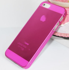 iPhone 5 5s SE back cover hoesje - transparant roze